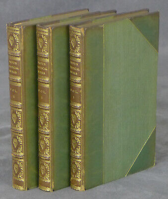 $75 • Buy The Poetical Works Of Alexander Pope 3 Volume Set / Later Printing
