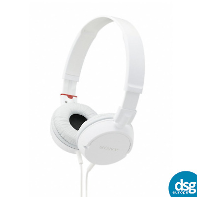 Sony MDR-ZX100 ZX Series Headphones Outdoor - Travel (White) • 15.99£
