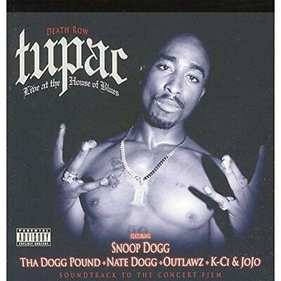TUPAC - LIVE AT THE HOUSE OF BLUES Feat Snoop Dogg Nate (NEW/SEALED) CD 2Pac Rap • 4.99£