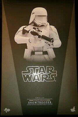 $ CDN238.19 • Buy Sideshow Hot Toys 1/6 12  MMS321 Star Wars First Order Snowtrooper Figure