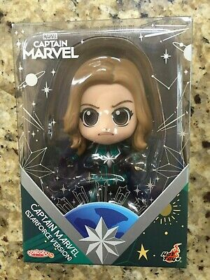 $ CDN6.01 • Buy Hot Toys Cosbaby Captain Marvel Carol Danvers Starforce Version Vinyl Figure