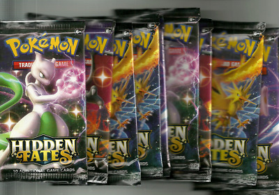 $19.99 • Buy 1x Pokemon Hidden Fates Booster Pack (1 PACK) Shiny - BRAND NEW FACTORY SEALED