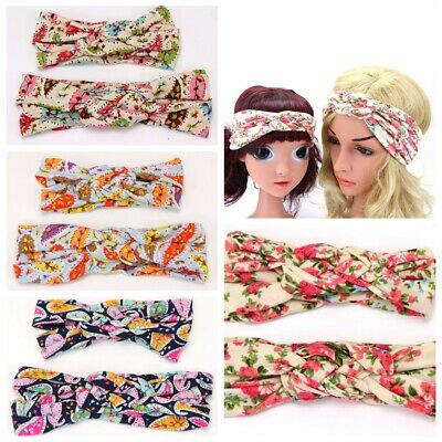 $ CDN7.38 • Buy 2PCS Mother And Daughter Kids Girl Baby Bow Headband Hair Band Accessories
