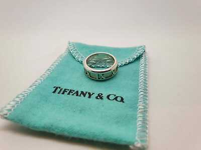 £90 • Buy Tiffany & Co. Atlas Band Ring Size  H  Sterling Silver 925