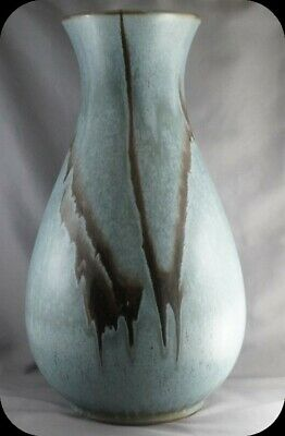 $ CDN69.99 • Buy BMP Blue Mountain Pottery Slate Vase 13 1/2