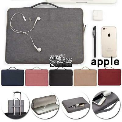 For Apple Macbook Air/Pro/Retina IPad Laptop Carrying Protective Sleeve Case Bag • 10.99£