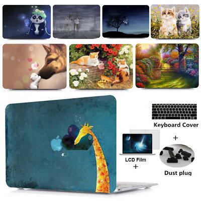 Laptop Case Cover & Keyboard Skin For Macbook Air/Pro 11  12  13  15  2010-2019 • 13.99£