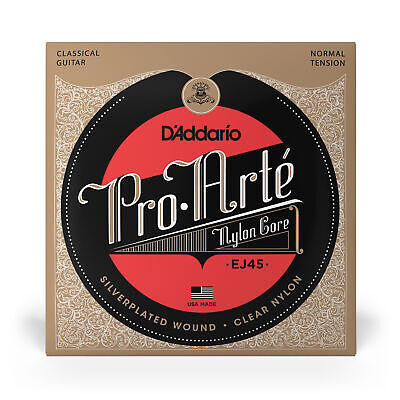 $ CDN12.75 • Buy D'Addario EJ45 Pro-Arte Nylon Normal Tension Classical Guitar Strings (28-43)