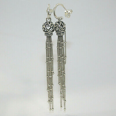 New Authentic Pandora Enchanted Tassels Drop Earrings 297115 W Hinged Box  • 72.36£