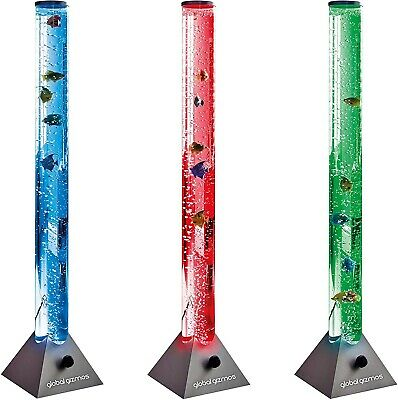 Colour Changing LEDs Lava Fish Water  Bubble Lamp Mood Light Tube Novelty Toy • 29.95£