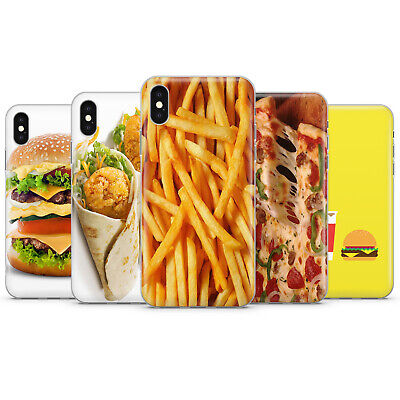 £7.49 • Buy Junk Food Phone Case Burger Potatoe Free Pizza Wrap Cover For Iphone 5 6 7 11 Xr