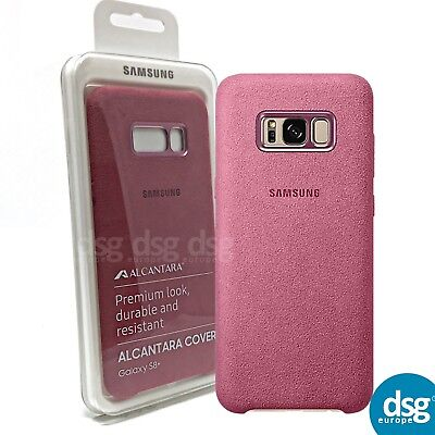 AU21.65 • Buy Genuine Samsung Galaxy S8+ S8 Plus Alcantara Cover Case - Pink Soft Touch