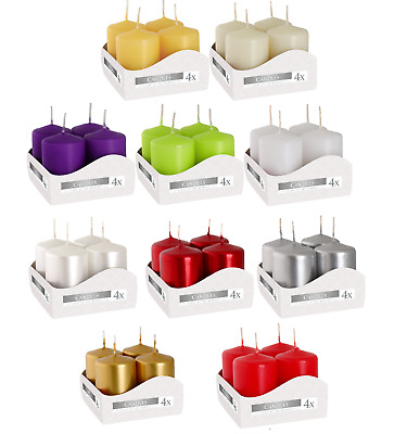 £6.58 • Buy Votive Candles, Set Of 4, 10 Colours To Choose From, 7 Hours Burning Time!!!