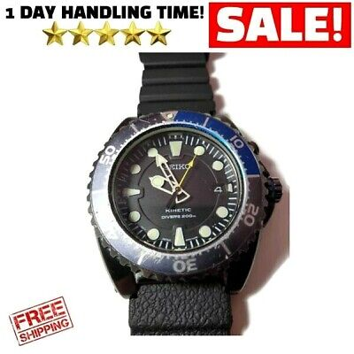 Mens Seiko Kinetic Air Divers Watch 200M Special Edition • 270$