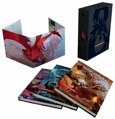AU228.50 • Buy NEW Dungeons & Dragons Core Rulebooks Gift Set (Special Foil Covers Edition With