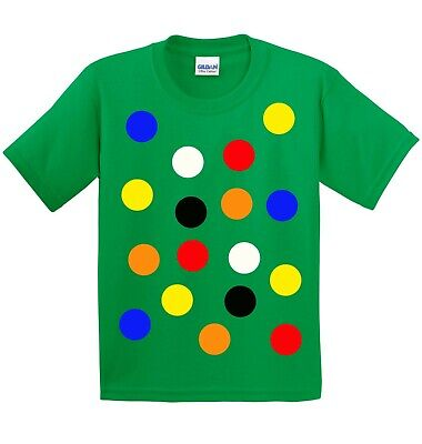 £8 • Buy Children S Spotty Dotty T Shirt In Green. Need A Tee With Coloured Spots?