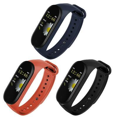 $ CDN13.51 • Buy M4W Smart Bracelet 4 Sport Fitness Tracker Heart Rate Blood Monitor Watch