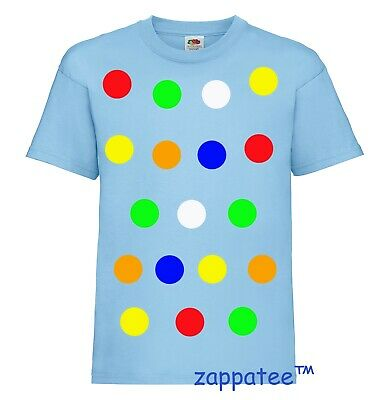 £7.49 • Buy Children 's Spotty Dotty T Shirt In Sky Blue. Need A Tee With Coloured Spots?