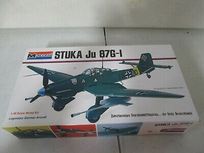 $19.99 • Buy Monogram Stuka JU 87G-I 1/48