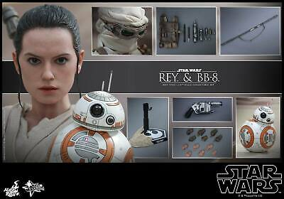$ CDN427.61 • Buy Hot Toys 1/6 Star Wars The Force Awakens MMS337 Rey & BB-8 Action Figure
