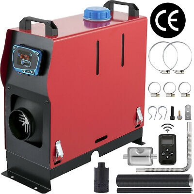 $138.56 • Buy 5KW 12V Diesel Air Heater All In One Low Noise New Remote Control Low Vibration