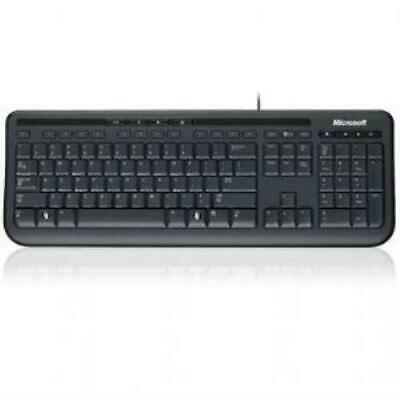 AU42 • Buy Microsoft Wired 600 Keyboard Only USB, 3 Year, ANB-00025 Retail Pack