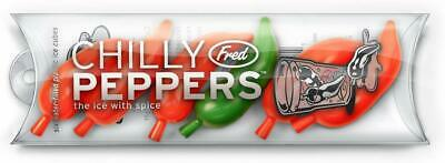 Fred And Friends Chilly Peppers Ice Cube Tray • 9.99£