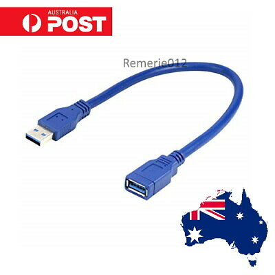 AU6 • Buy USB 3.0 Male To Female Data Cable Extension Cord For Laptop PC Camera