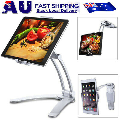 AU30.99 • Buy 2 In 1 Tablet Stand Holder Desktop Wall Mount Stand For IPad Air IPhone Samsung