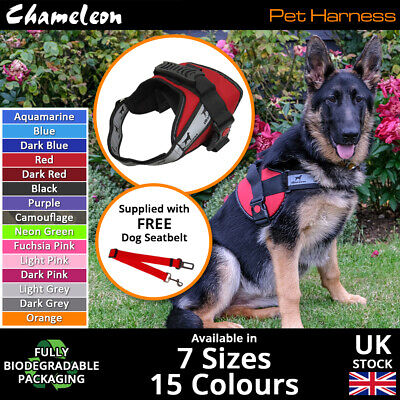 £15.85 • Buy Premium Dog Harness, Non Pull, Adjustable, Breathable And Reflective - 7 Sizes