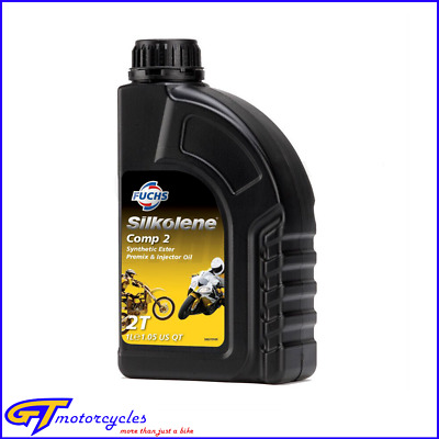 Silkolene Comp 2 2T 2 Stroke Motorcycle Engine Oil 1 Litre  | Premix & Injector • 13.94£