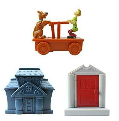 £9.95 • Buy Scooby-Doo Toy Set Of 3 Stack Of Heads, Track Trolly Dash & Spooky Pencil House