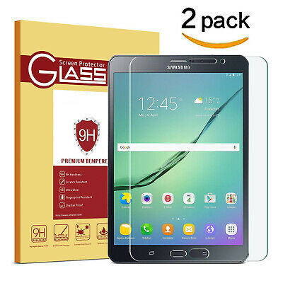 £5.45 • Buy 2x For Samsung Galaxy Tab T515 T580 P610 Screen Protector Tempered Glass Cover