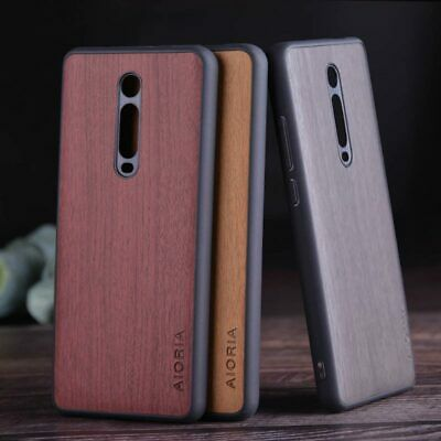$3.49 • Buy Case For Xiaomi Mi 9T Pro Redmi K20 Pro Wood Pattern Leather Skin Case Cover