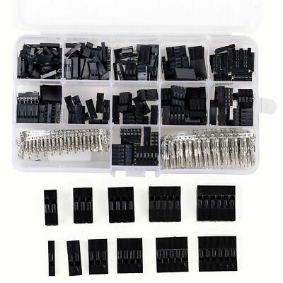 AU11.38 • Buy 620pcs Dupont Wire Jumper Pin Header Connector Housing Kit And M/F Crimp Pins BE