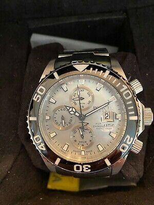 $775 • Buy Invicta Reserve Pro Diver Valjoux 7750 Movement Plat. Mop Dial. Nos Condition!!!