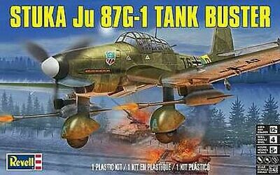 $13.95 • Buy Revell Stuka Dive Bomber Ju87G-1 - Plastic Model Airplane Kit - 1/48 Scale