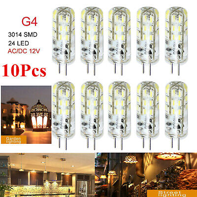 AU10.43 • Buy 10X G4LED Warm White Capsule Corn Light Replace Crystal Halogen Lamp Bulbs 12V