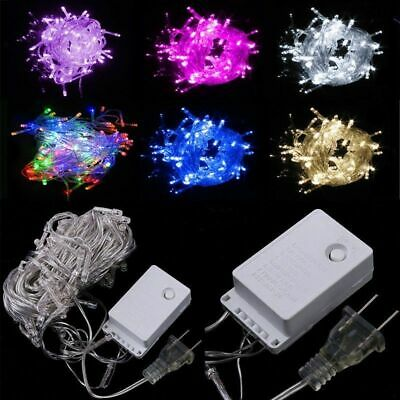 $4.99 • Buy 10M 100 LED Christmas String Fairy Light Wedding Xmas Party Decor Outdoor Indoor