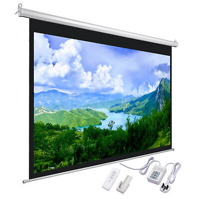 £109.90 • Buy 120  16:9 Electric Motorised Projector Screen Home Office Cinema HD Projection