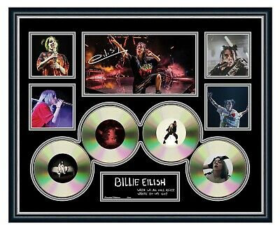 AU99.99 • Buy Billie Eilish 2019 Australia Tour Signed Limited Edition Framed Memorabilia