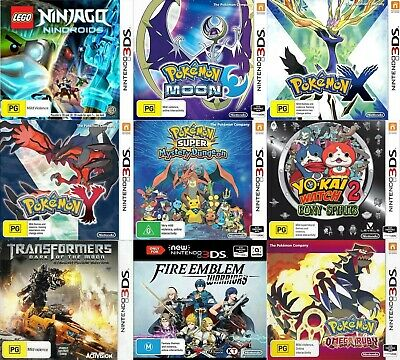 AU29.95 • Buy Nintendo 3DS Games - Choose Your Own Title *Free Next Day Post From Sydney*