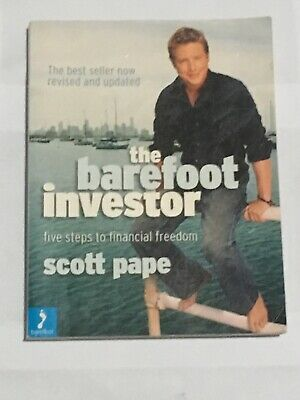 AU12.50 • Buy THE BAREFOOT INVESTOR Scott Pape - Five Steps To Financial Freedom