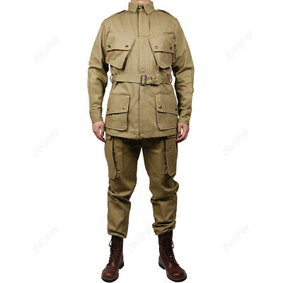 $144.99 • Buy WWII US Army 10182 Airborne Division Airborne M42 Paratroopers Jacket Pants