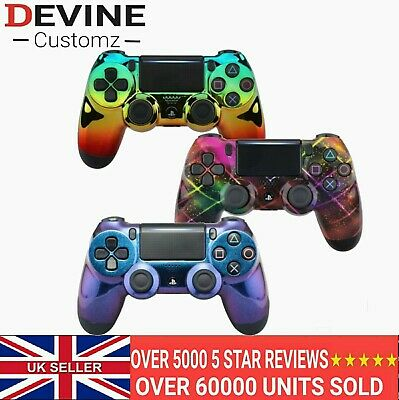 AU25.76 • Buy  Replacement Front Shell For PS4 Pro Slim Controller Galaxy Chameleon Faceplate