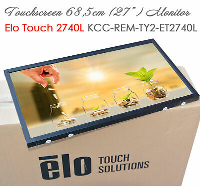 £340.66 • Buy ELO INTELLITOUCH 27  68cm  LCD TOUCHSCREEN WAND MONITOR KCC-REM-TY2-ET2740L
