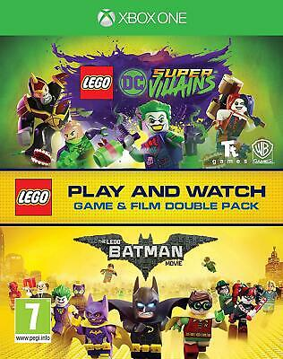 AU30.62 • Buy Lego DC Super-Villains Game & Film Double Pack Xbox One Game