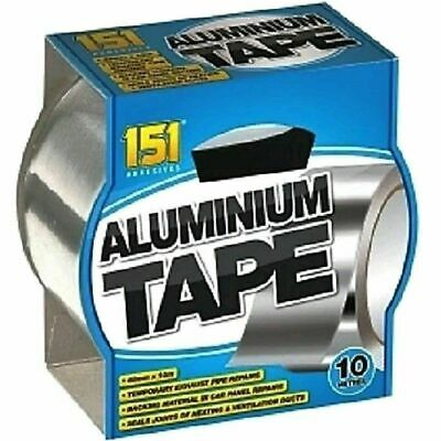 £7.90 • Buy 2 X 10 Metre Aluminium Tape Strong And Reliable Temporary Exhaust Pipe Repairs