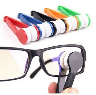 Microfibre Optic Glasses Lens Cleaner Eyeglasses Spectacles Cloth Cleaning Tool • 1.99£