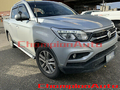 AU389 • Buy SsangYong Musso / Musso XLV Dual Double Cab 4 DOORS Side Steps 2019 2020+ (S6)